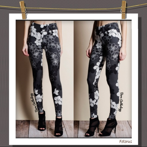 30441e5bf6 Leggings Depot Pants | Floral Leggings | Poshmark